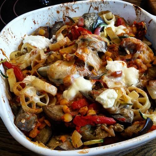 Pasta-touille | by yummysmellsca