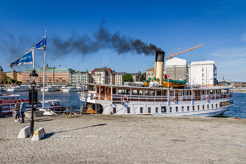 se sweden stockholm schweden sverige steamship skeppsbron blidösund stockholmslän ssblidösund ångfartyg