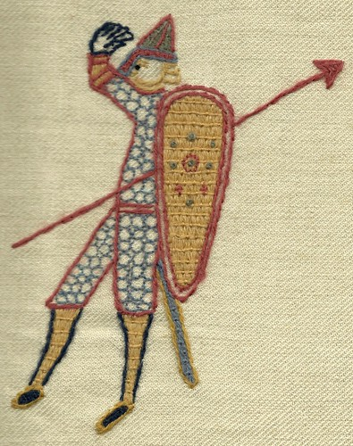 Saxon Soldier | by Stamford Bridge Tapestry Project