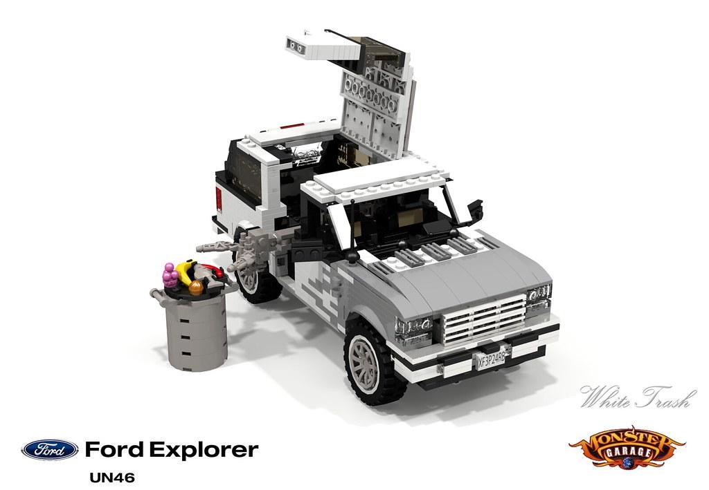 Ford Explorer - 'White Trash' (Monster Garage)   First gener