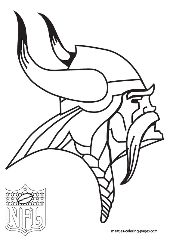 Minnesota Vikings Coloring Pages Via Free Coloring Pages I Flickr