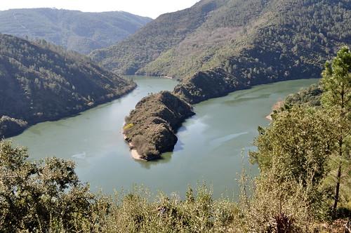 Río Sil, meandro da Cubela