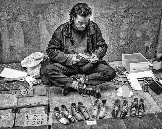 Shoe Maker Nice France.