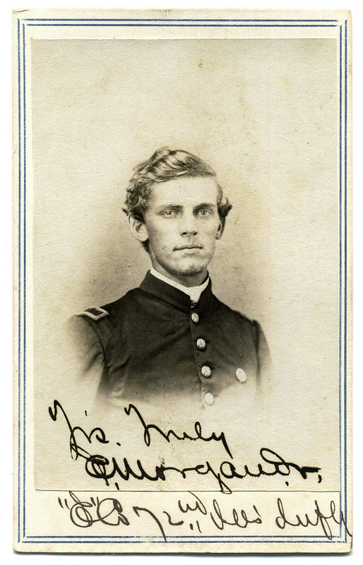 Fraternity Boy in the 72nd Illinois Infantry