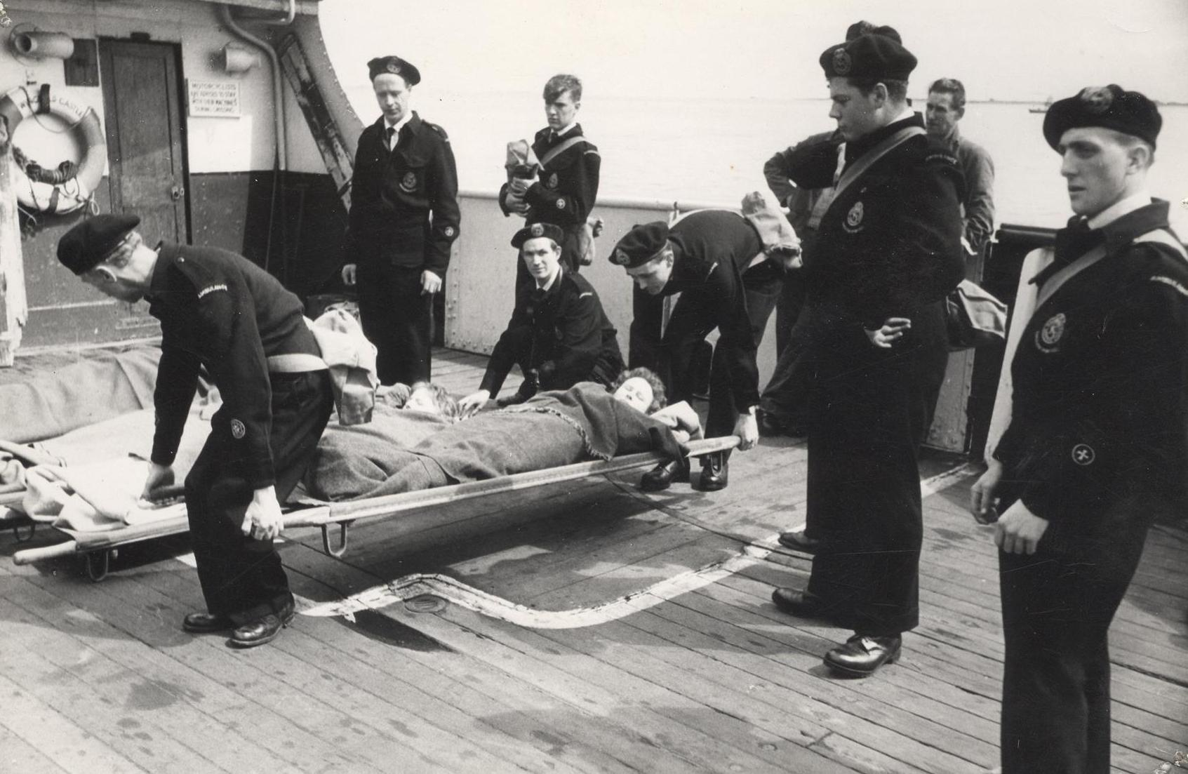 A simulated casualty during Exercise Exodus 28 May 1961 (archive ref CD-103) (12)