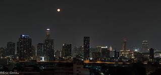 Moonrise over Bangkok | by jamganz