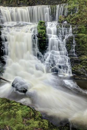 park portrait wales falls national brecon beacons gwyn clun sgwd isaf