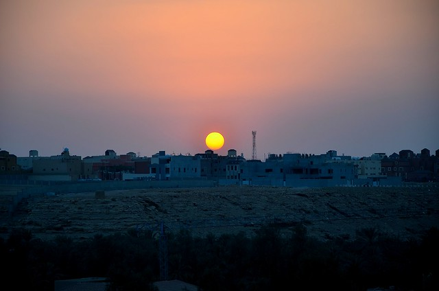 DSC_6020 Sunset at DQ, Riyadh