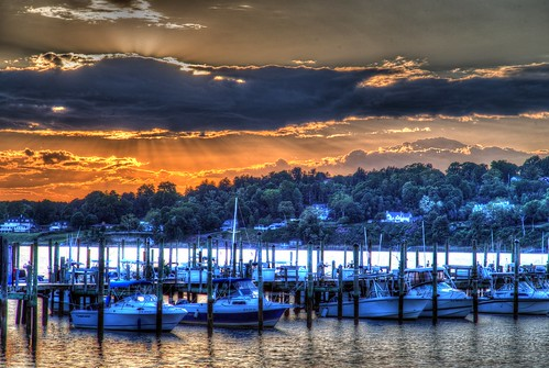 2015 spring sunset sky clouds homes hill navesink river water marina boat boats rumson nj og hdr sublime 365the2015edition 3652015 day142365 day142 22may15