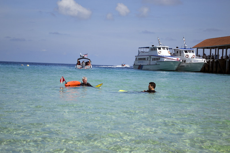 PADI Scuba Diving Salang Bay Tioman Island
