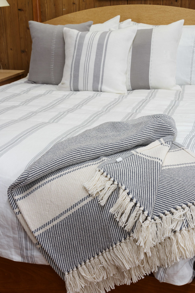 Brahms Mount Throw | Featuring bed linens by Libeco Home, an… | Flickr