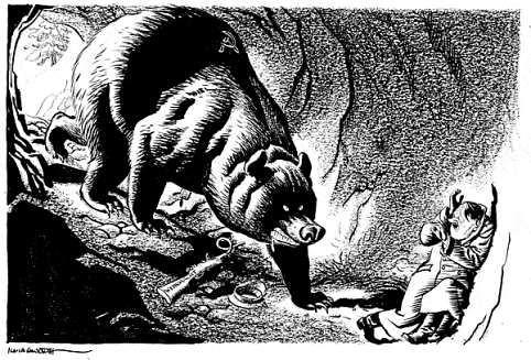 ww2-cartoons-hitler-cornered-by-the-russian-bear-stalingra