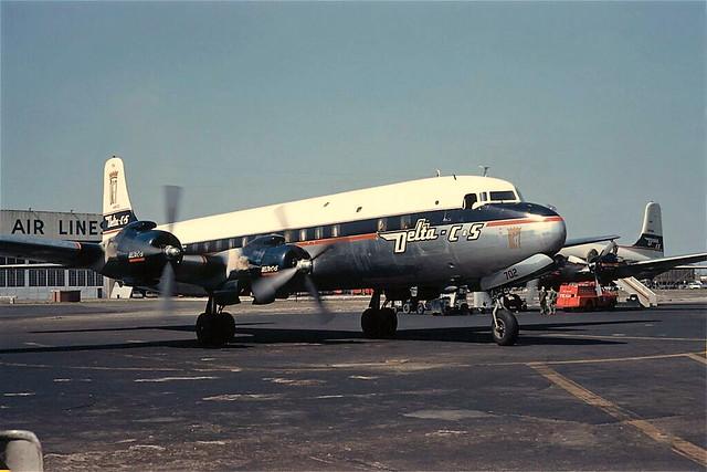 Chicago Midway Airport - Delta-C&S - Douglas DC-7