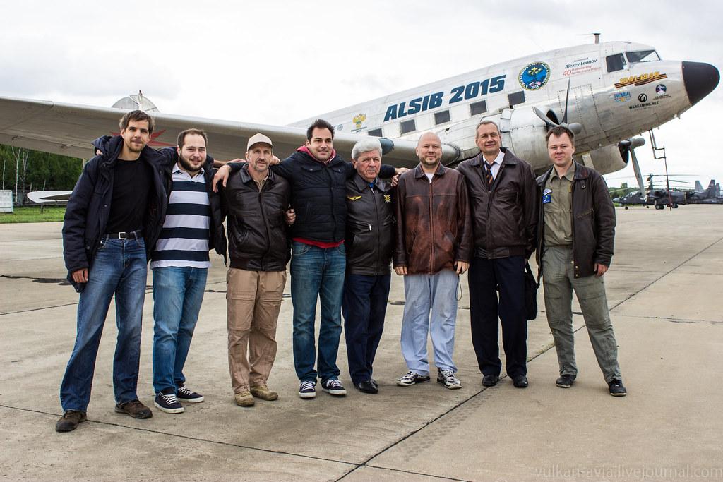 После перелёта в Кубинку из Внуково на DC-3  (2016г)