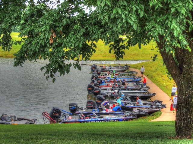 Boats in a Row