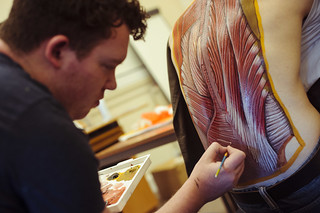 Art and anatomy event illustrates the wonders of the human body | by TheUniversityofEdinburgh