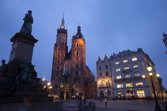 Polonia: Catedral de Santa Maria de Cracovia