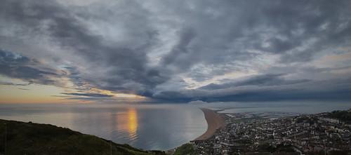 sunset cloud portland coast 2016