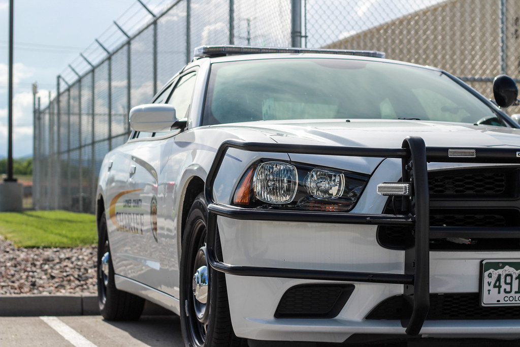 Larimer County Sheriff's Office | A 2014 model Dodge Charger… | Flickr