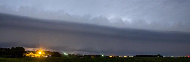 060315 - Early June Nebraska Thunderstorms (Pano)
