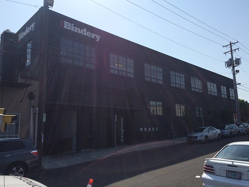 West Side of The Bindery (May 2015)