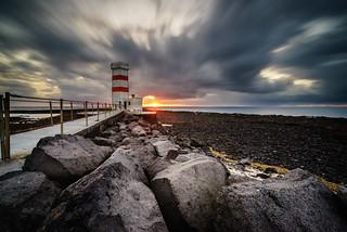 Garður Sunset   by hrobertsson