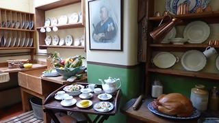 Kitchen at Beaulieu palace