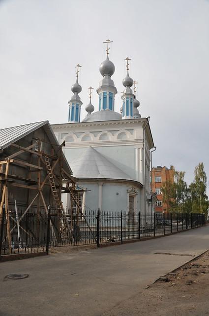 Калуга - Церковь Знамения Пресвятой Богородицы