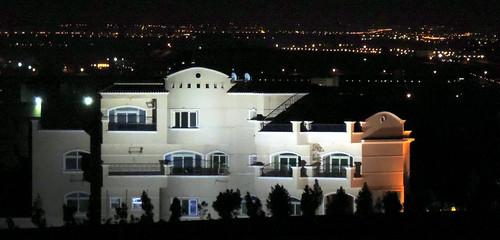 light white house black yellow closeup architecture night landscape nikon outdoor egypt cairo coolpix p520