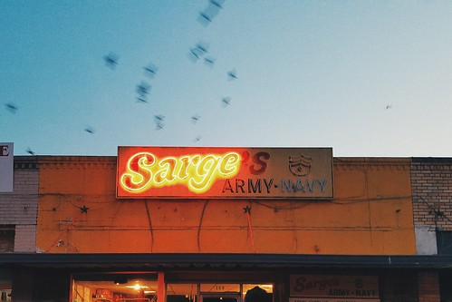 sunset army neon texas dusk navy samsung smartphone collegestation texasamuniversity northgate sarges vsco androidography snapseed vscofilm vscocam galaxys6