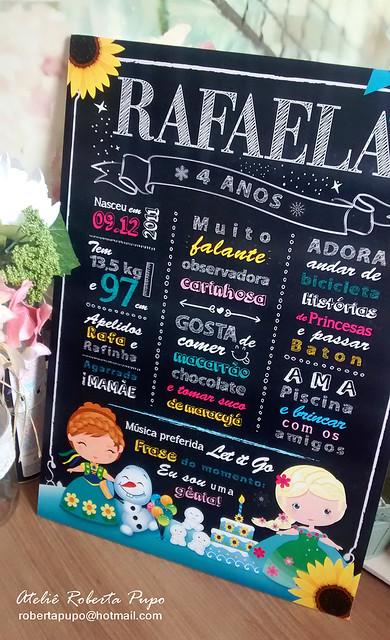 Chaklboard Frozen Fever #ckalkboard #quadrolousa #quadronegro