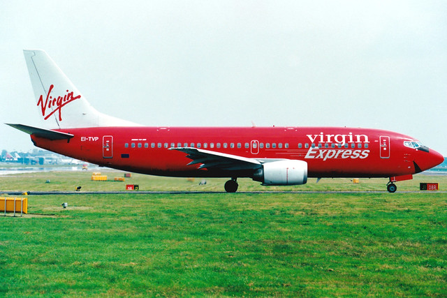 Virgin Express | Boeing 737-300 | EI-TVP | London Gatwick