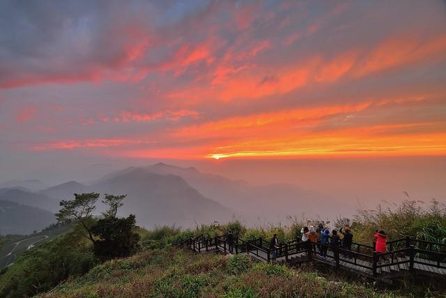 隙頂 ~火燒雲彩~ Sunset