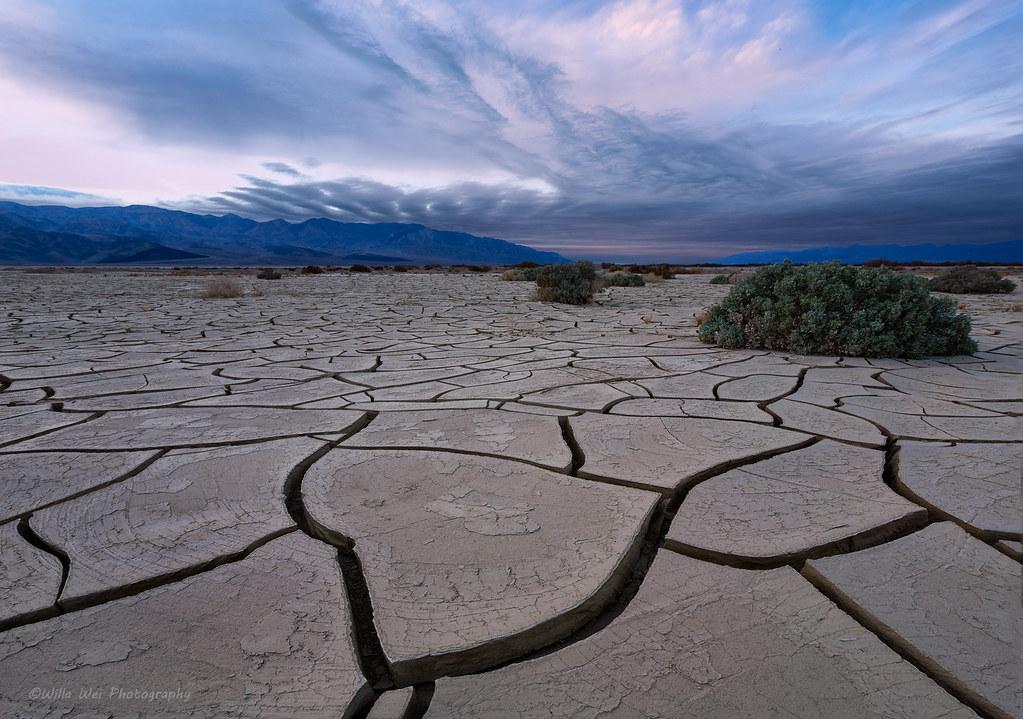 Mud Cracks | Death Valley National Park | Willa Wei | Flickr