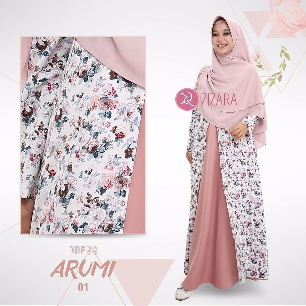 Gamis Zizara Arumi Dress 8 - baju muslimah busana muslim   Flickr