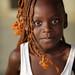 Kenya, beautiful girl on Rusinga Island, Lake Victoria by Dietmar Temps