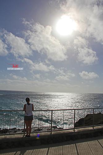 ocean sea sky sun clouds hawaii landscapes