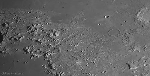 Moon, Vallis Alpes - Jun. 14, 2016 | by Oskari Syynimaa