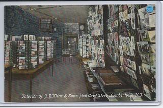 11740956744  U. S. Lambertville New Jersey Jewish J.B. Kline Postcard Store | by stephaniecomfort