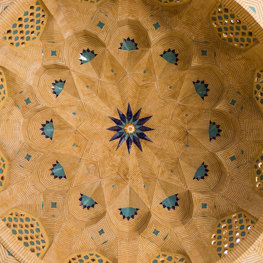Entrée du complexe du Shah Cherag