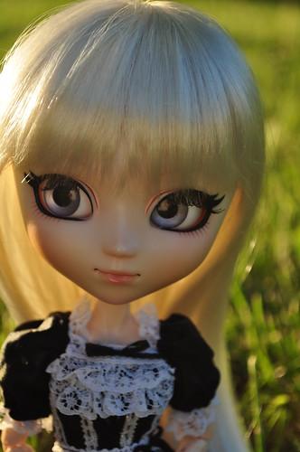 doll blueeyes customized pullip whitehair dollphotography obitsu dichan tiphona