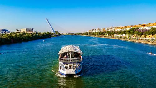 Guadalquivir river in Seville, Spain! | by tripandtravelblog