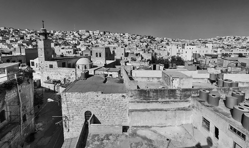 city bw stone architecture landscape israel town peace shadows palestine muslim jewish conflict tension palestinian flashpoint