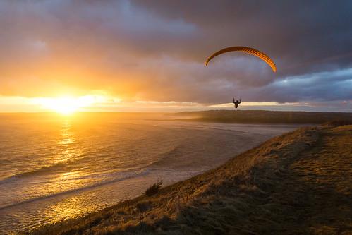 ca sunset canada novascotia ns paragliding paraglider lawrencetown paraglide eastlawrencetown lawrencetownbeach novascotiabeach