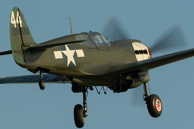 Curtiss P-40M Warhawk