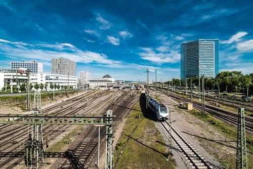 Mannheim: Hauptbahnhof & Victoria-Tower
