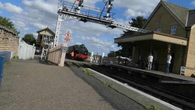 Steam Trains at Wansford Station