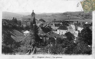 Vue générale d'Orgelet