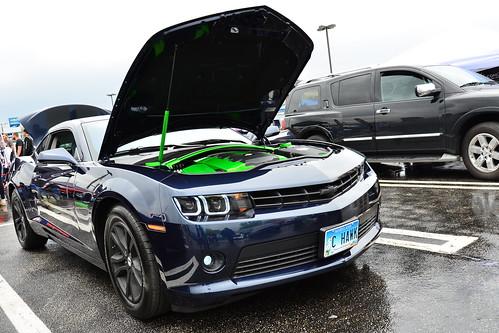 Green Tinged 2015 Chevy Camaro Photo