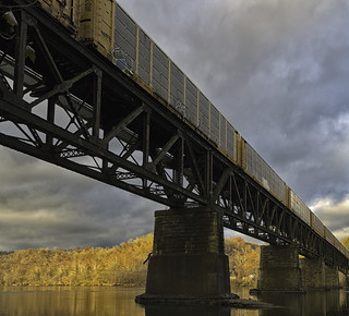 Trestle over the New River